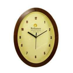 Wood Finish Wall Clock