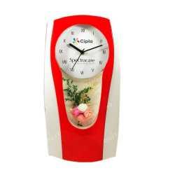 Elegant Flower Wall Clock