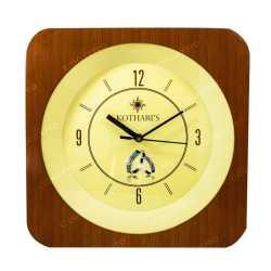Majestic Wood Finish Wall Clock