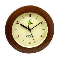 Sleek Wood Finish Wall Clock