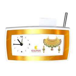 Dashing Table Clock with Pen Stand & Pen Holder