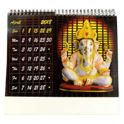 Carving Ganapathi Table Calender