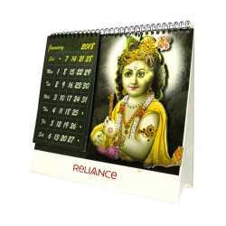 Lord Krishna Table Calender
