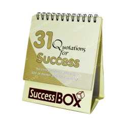 Success Box Table Calender