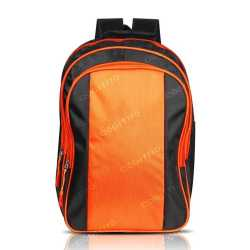Black & Orange Backpack