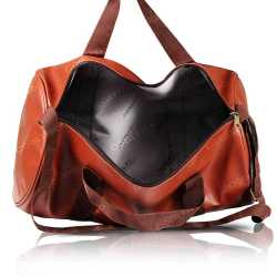 Tan Duffel Travel Bag