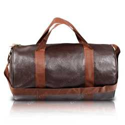Brown Duffel Travel Bag