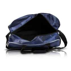 Blue Polyester Duffel Travel Bag