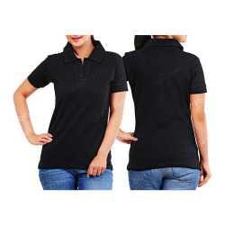Heavy Cotton Womens Collar T-Shirt
