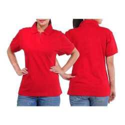 Ultra Cotton Womens Collar T-Shirt
