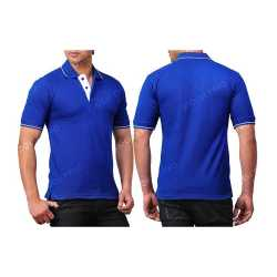 Comfort Zone Polo Mens Collar with Piping T-Shirt