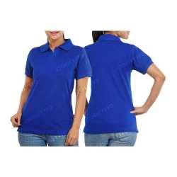 Comfort Zone Polo Womens Collar T-Shirt