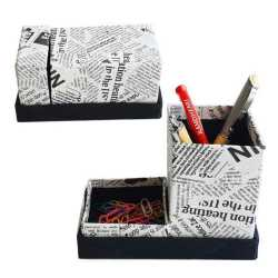 Pen Stand with Pin Box