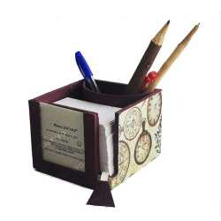 Slip Box with Pen Stand