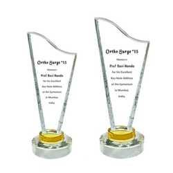 Crystal Trophy 12