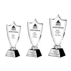 Crystal Trophy 18