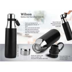 Stainless Steel Flask with Carry Handle