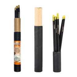 Plantable Pencil Box ( 5pc ) Black Gold