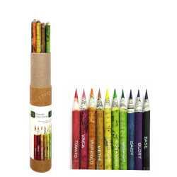 Plantable Coloring Pencil ( 10pc )