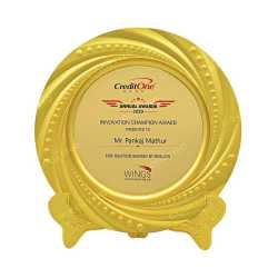 Gold Premium Metal Award