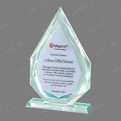 Triangle Crystal Trophy