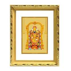 Lord Balaji 24ct Gold Foil with DG Frame 1