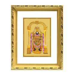Lord Balaji 24ct Gold Foil with DG Frame 2