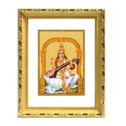Swaraswathi 24ct Gold Foil with DG Frame 2