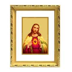 Jesus 24ct Gold Foil with DG Frame