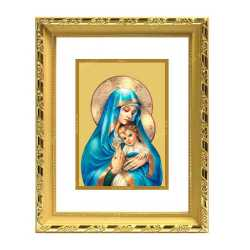 Mariya and Jesus 24ct Gold Foil with DG Frame