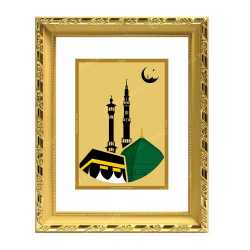 Macca Madina 24ct Gold Foil with DG Frame 2
