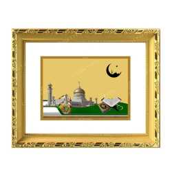 Macca Madina 24ct Gold Foil with DG Frame 4