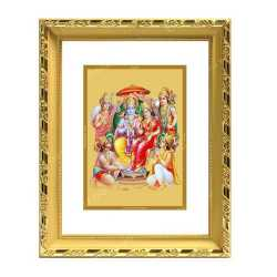 Ram Darbar 24ct Gold Foil with DG Frame
