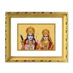 Raman Seetha 24ct Gold Foil with DG Frame
