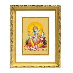 Lord Ganesha 24ct Gold Foil with DG Frame 2