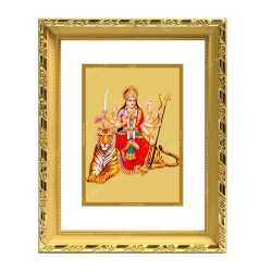 Maa Durga 24ct Gold Foil with DG Frame 2