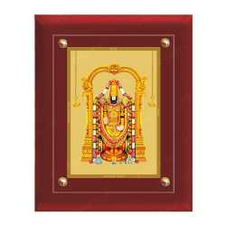 Lord Balaji 24ct Gold Foil with MDF Frame 1