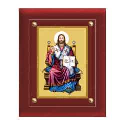 The King of Jesus Christ 24ct Gold Foil with MDF Frame