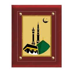 Macca Madina 24ct Gold Foil with MDF Frame 1