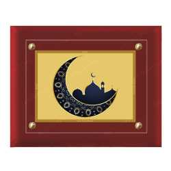 Macca Madina 24ct Gold Foil with MDF Frame 2