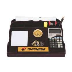 Pen Holder with clock & Calculator