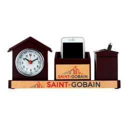 Pen Holder with watch and Mobile Holder