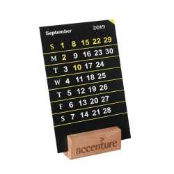 Wooden Calendar Stand