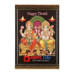 Lord Lakshmi & Ganesha Wall Hanging 10