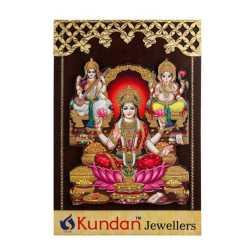 Lord Ganesha Lakshmi & Swaraswathi Wall Hanging 10