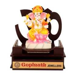 Lord Ganesha Wooden Table Top  8