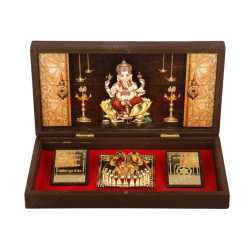 Lord Ganesha in Wooden Box