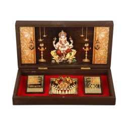 Lord Ganesha in Wooden Box