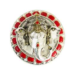 Wall Frame / Hanging Ganesha (Red)