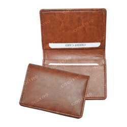 Brown/Tan Color Card Holder